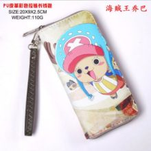 Appealing Naruto Character's Long Zipper Wallet / Purse