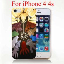 Cool Naruto's Tailed Beast Hard Cover Case for iPhone 4, 4s, 5, 5s, 5c, 6, 6s, 6s Plus