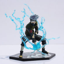 Astonishing 13cm Naruto's Kakashi Hatake Lightning Blade PVC Action Figure