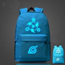 Astonishing Naruto's round eyes write unisex school bag / backpack