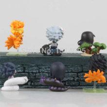 Beautiful 6pcs/set of Naruto's Mini PVC Action Figures / Toys
