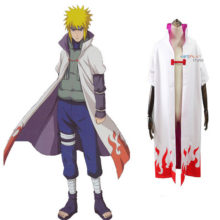 Brilliant Naruto's Fourth Hokage cosplay costume