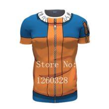 Classic Naruto cosplay t-shirt