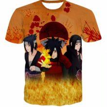 Classic, fashionable Uchiha Sasuke/Madara/Itachi 3D t-shirt