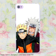 Naruto & Jiraiya phone case for Lenovo S850 S90 S60, Nokia 535 630 640 & Sony Z2 3 4