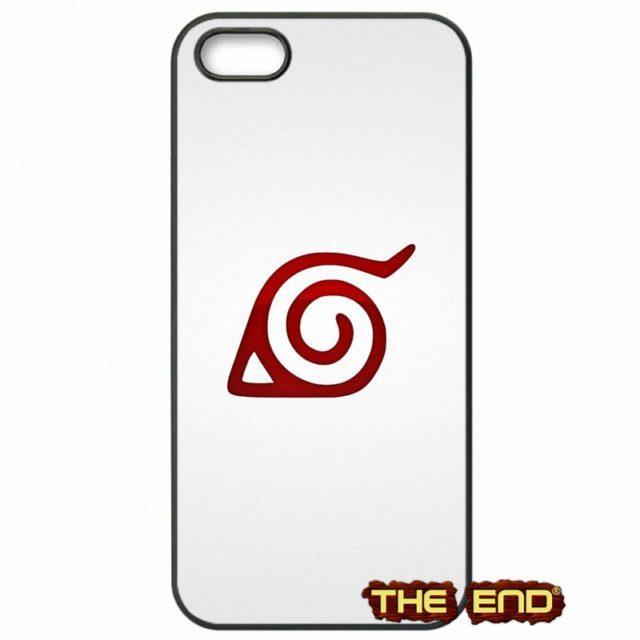 Naruto's Leaf Village logo phone case for iPhone 4 5C 5 5S SE 6 6S 7 6 6S Plus, Huawei P8 Lite, P9 Lite, A3 2015, A5 2015, J5 2015, A3 2016, A5 2016, J3 2016, J5 2016, Galaxy S7 Edge, S6, S5, Grand Prime & Xiaomi Redmi 3S, Redmi Note 3