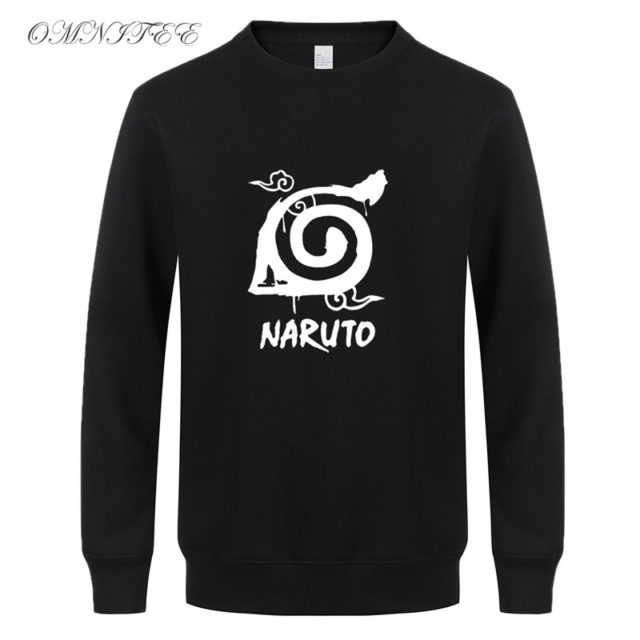 Classic Naruto logo sweatshirts (more designs available)
