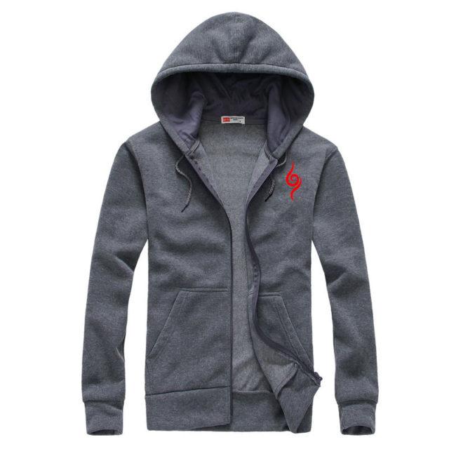 Naruto's Anbu symbol zip-up hoodie