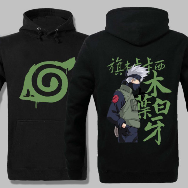 Amazing Kakashi Hatake hoodie in 3 colors