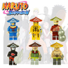 Naruto Shippuden mini figures / building blocks (compatible with Lego)