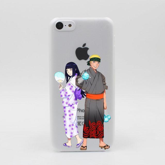 Transparent Naruto hard phone case / cover for iPhone 7 7 Plus 6 6S Plus 5 5S SE 5C 4 4S, Huawei, Lenovo & Samsung smartphones