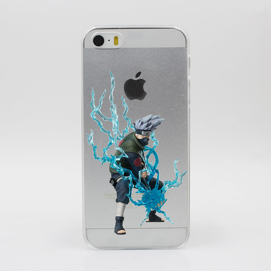 Transparent Naruto hard phone case \/ cover for iPhone 7 7 Plus 6 6S Plus 5 5S SE 5C 4 4S, Huawei