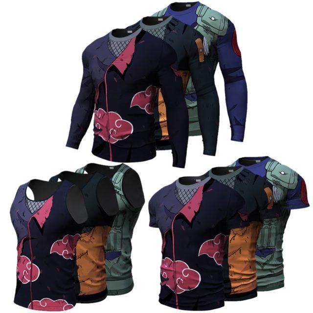 Astonishing 3D Naruto shirts / cosplay