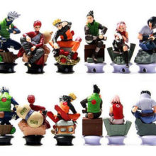 Naruto PVC action figures (6 pcs)