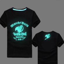 Glow-in-the-dark, fluorescent Fairy Tail t-shirt
