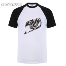 Great Fairy Tail baseball jersey shirt
