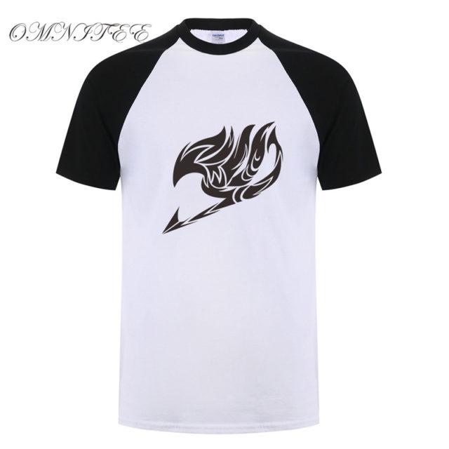 Great Fairy Tail baseball jersey shirt