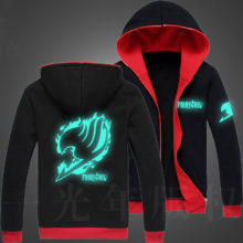 Amazing Fairy Tail glow-in-the-dark jacket / hoodie