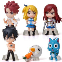 Fairy Tail's character minifigures
