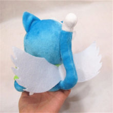 "Fairy Tail ""Happy the Blue Cat"" 18cm/7″ Cute Plush Toy"