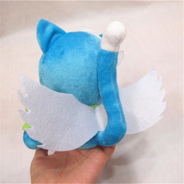 """Fairy Tail """"Happy the Blue Cat"""" 18cm/7″ Cute Plush Toy"""