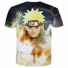 Kick-ass Naruto 3D all-over-print t-shirt