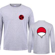 Wonderful Naruto's Uchiha Clan Long Sleeve T-shirt