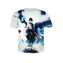 Amazing all-over-print Sasuke shirt
