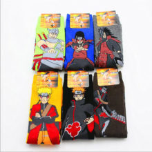 Amazing multicolor Naruto characters socks