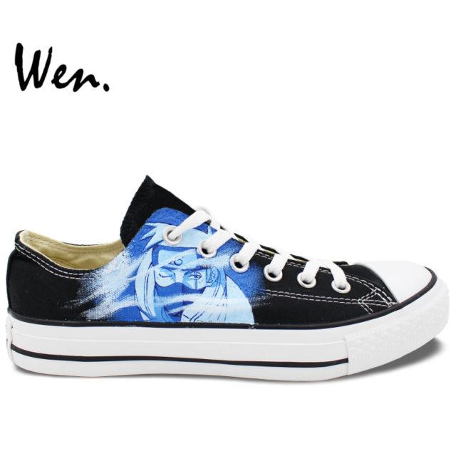 Superb Naruto's Kakashi Converse-style sneakers