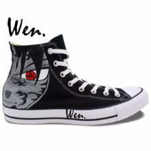 Amazing Sasuke Converse-style sneakers / shoes