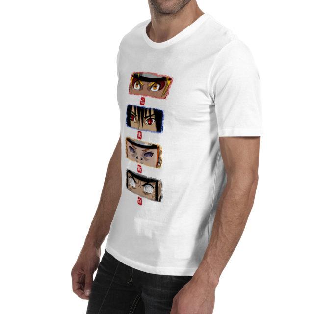 Naruto and Akatsuki Team Eyes T-shirt