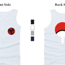 Sleeveless Naruto Summer Tank Top