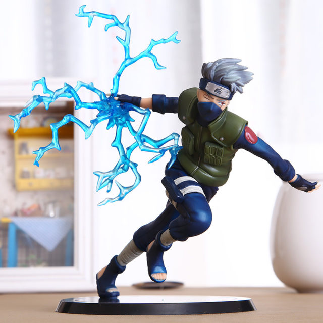 Kick-ass 13cm Naruto's Kakashi Hatake Lightning Blade PVC Action Figure