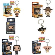 Naruto Funko Pop Pocket Keychain