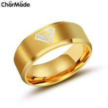 Classic Naruto's symbol stainless steel ring