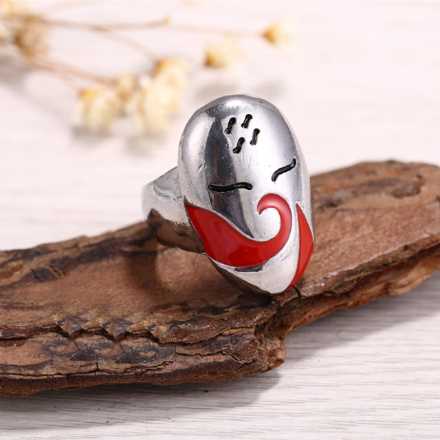 Naruto Haku Mask Ring
