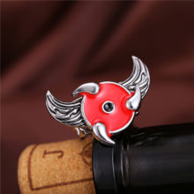Naruto Sharingan Rings with rotating angel wings