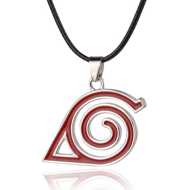 Incredible Naruto's Leaf Symbol Cosplay Necklace