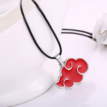 Akatsuki clan's red cloud pendant necklace