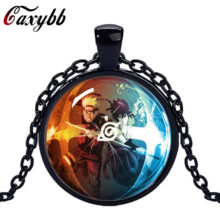 NARUTO's glass dome pendant necklace (3 colors)