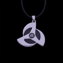 Naruto's round eyes Sharingan pendant necklace