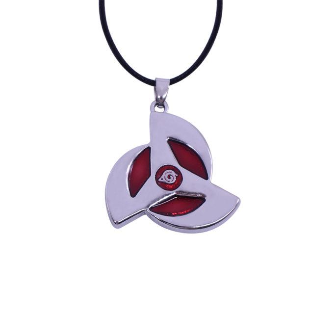 Naruto's round eyes Sharingan pendant necklace