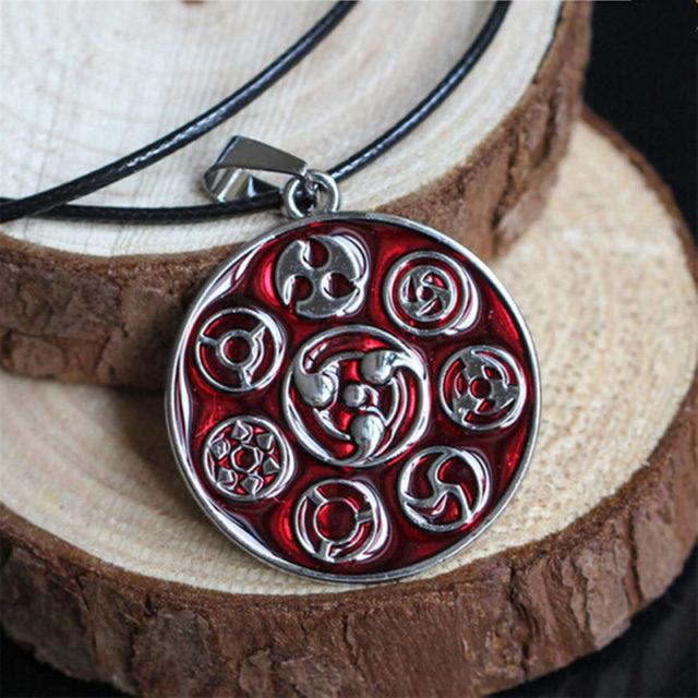 Killer Naruto's Sharingans Pendant Necklace