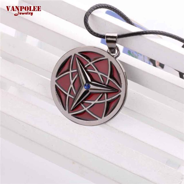 Sasuke's Eternal Mangekyou Sharingan Pendant Necklace