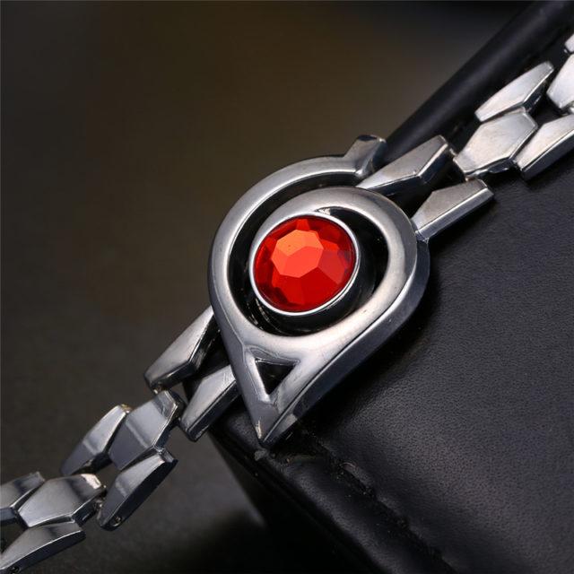 Naruto Leaf village symbol Chain Bracelet