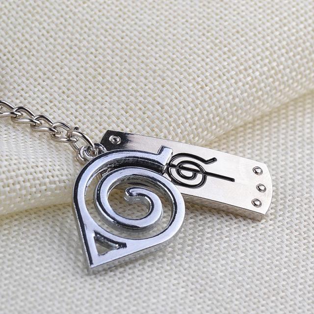 Stunning Naruto's Leaf Symbol Cosplay keychains