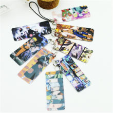 Great Naruto PVC Photo Card / String Keychain (8 pcs)