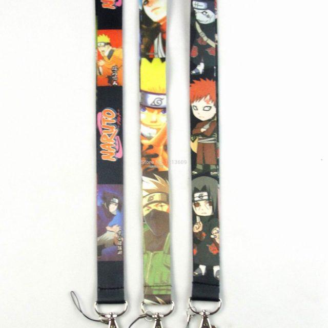 Naruto ID badge / holder keychain / strap for smartphones