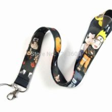 Naruto ID badge / holder keychain / strap for smartphones